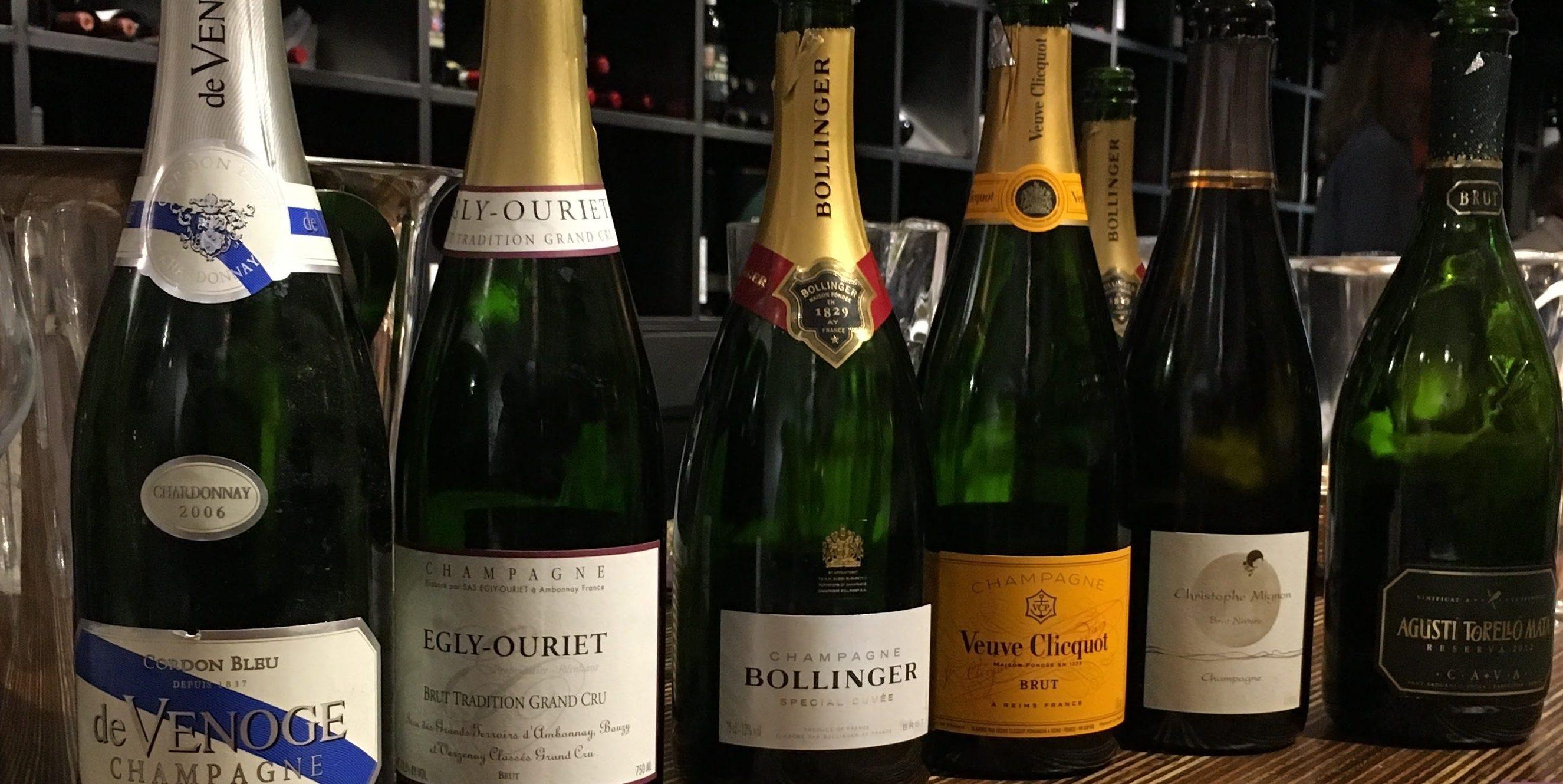 Proeverij? Een champagne proeverij? JA!!