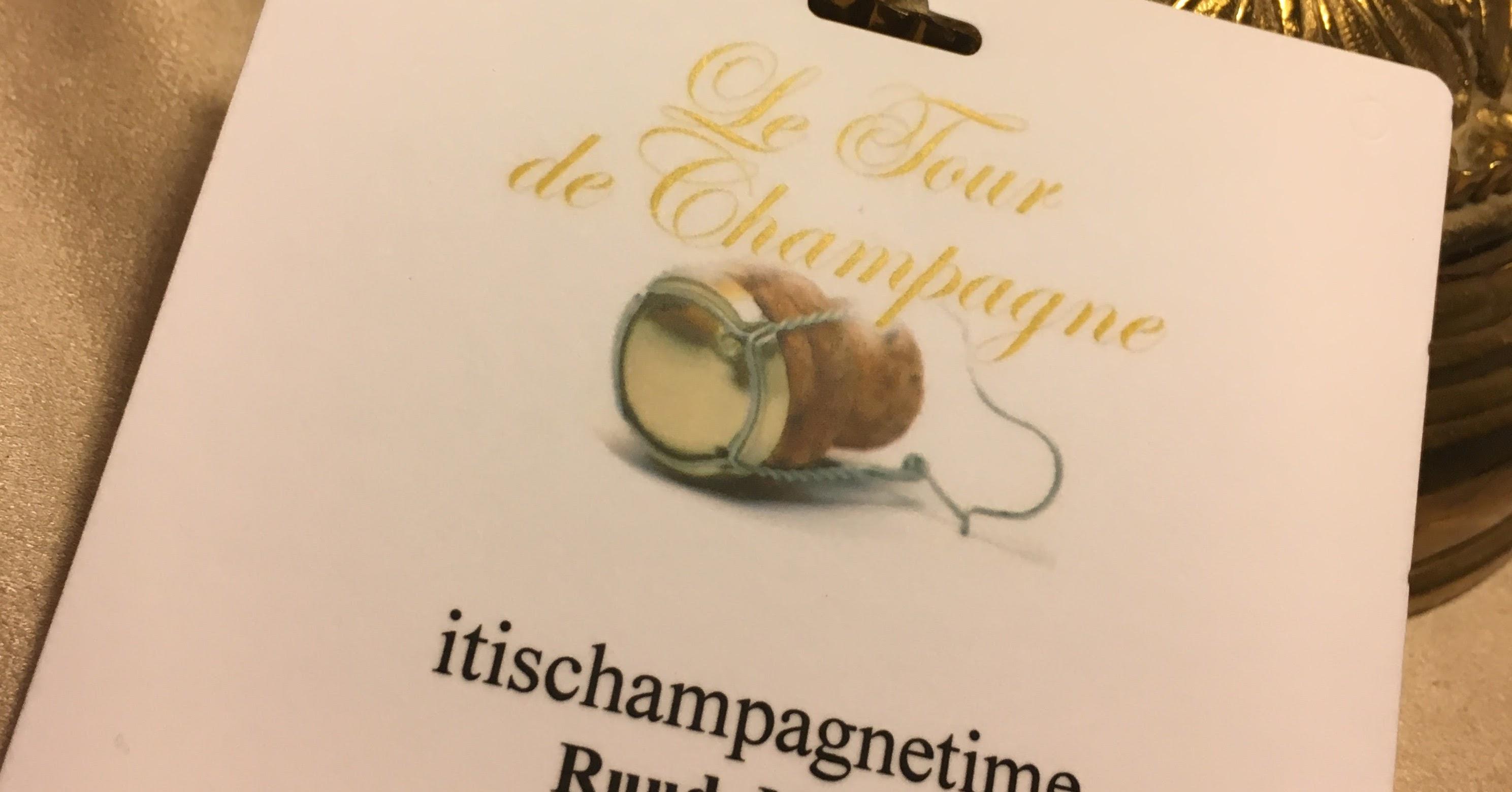Proeven op niveau? Le Tour de Champagne
