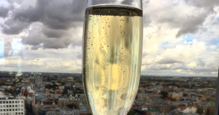 Riga een champagne stad?