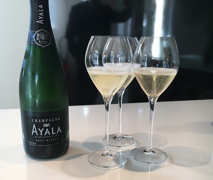 It is champagne time brut majeur ayala