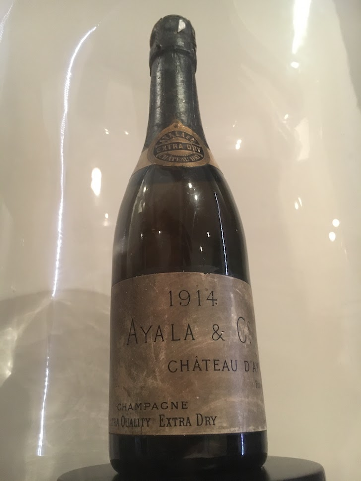 Champagne Ayala 1914 it is champagne time