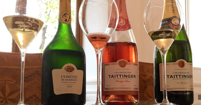 Champagne Taittinger, het bezoeken waard!