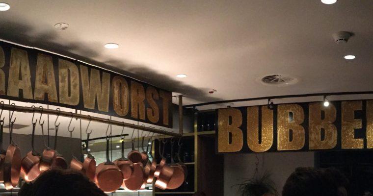 Bubbels en Braadworst? Een verrassing!