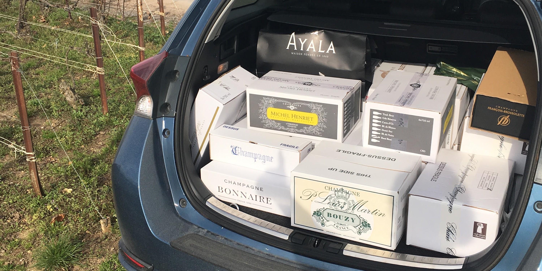 Champagne reis dag 3, Montagne de Reims