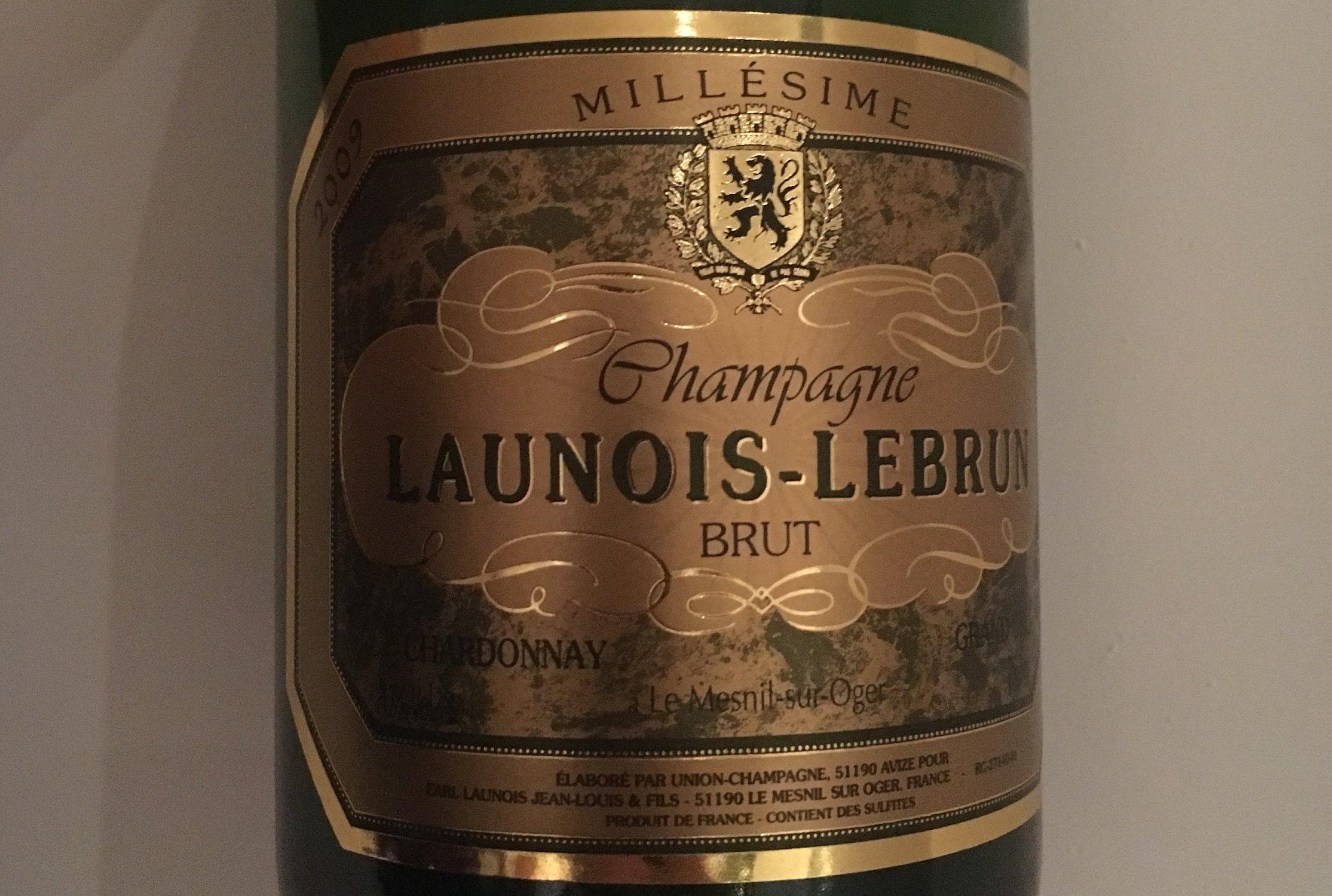 Champagne Launois Lebrun Millesime