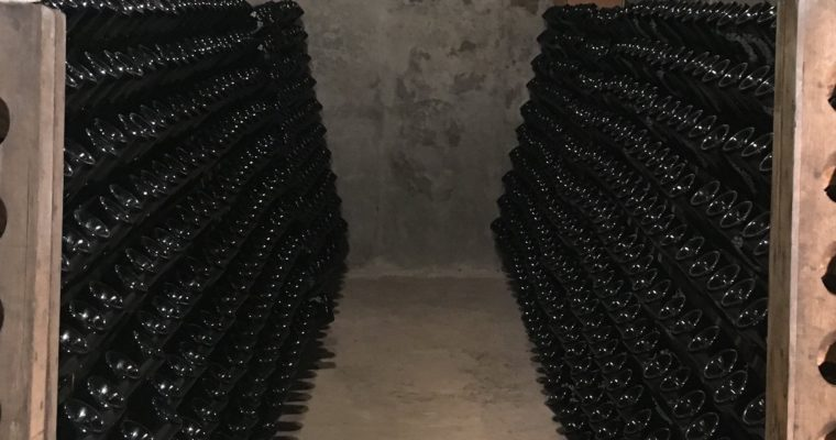 Magnums champagne, voor oudejaarsavond!