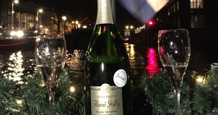 Op de boot met Jerome's Champagne