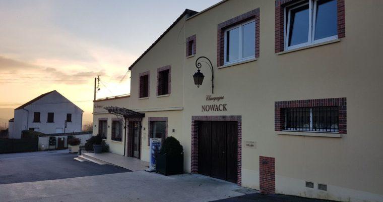 Champagne Nowack in Vandières